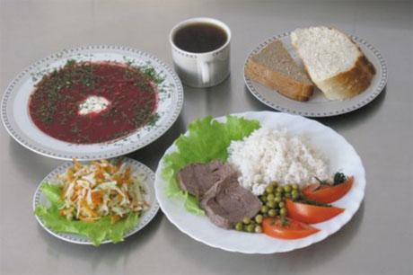 Блюдо на второе из мяса и риса с