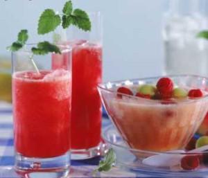 Летние напитки и десерты